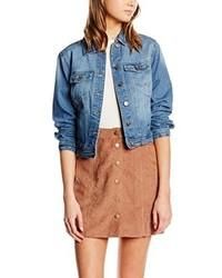 Veste en jean bleue claire New Look