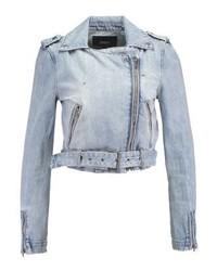Veste en jean bleue claire Only