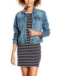 Veste en jean bleue claire Vero Moda