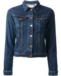 Veste en jean bleue marine original 1370913