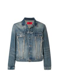 Veste en jean bleue 424