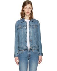 Veste en jean bleue A.P.C.