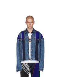 Veste en jean bleue Ahluwalia Studio