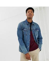 Veste en jean bleue ASOS DESIGN
