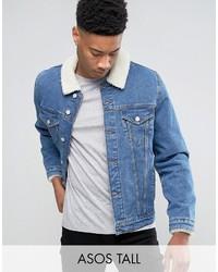 Veste en jean bleue Asos
