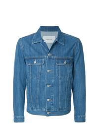 Veste en jean bleue Cerruti 1881