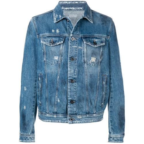 Veste en jean bleu Diesel Black Gold