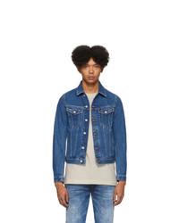 Veste en jean bleue Diesel