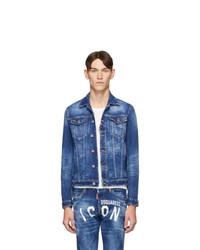 Veste en jean bleue DSQUARED2