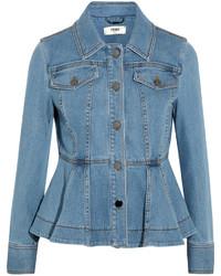 Veste en jean bleue Fendi