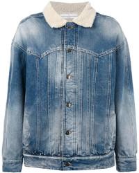 Veste en jean bleue Golden Goose Deluxe Brand