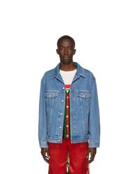 Veste en jean bleue Gucci
