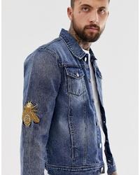 Veste en jean bleue Hermano