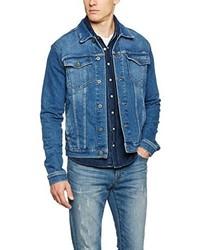 Veste en jean bleu Hilfiger Denim