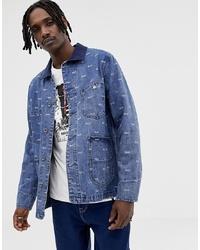 Veste en jean bleue HUF