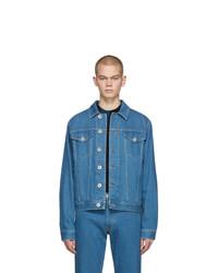 Veste en jean bleue Lanvin