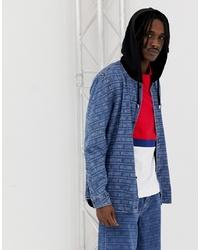 Veste en jean bleue Love Moschino