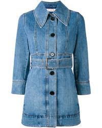 Veste en jean bleue Marni