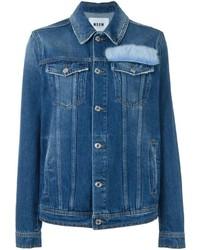 Veste en jean bleue MSGM