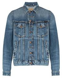 Veste en jean bleue Nudie Jeans