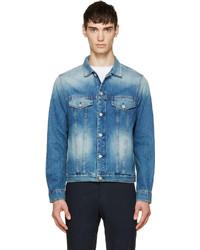 Veste en jean bleue Paul Smith