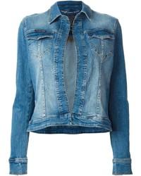 Veste en jean bleue Philipp Plein