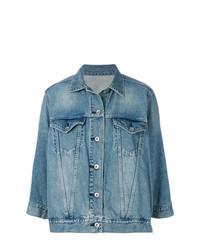 Veste en jean bleue Sacai
