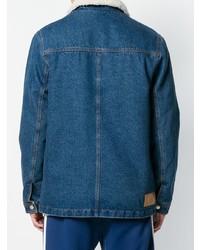 Veste en jean bleue AMI Alexandre Mattiussi
