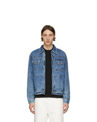 Veste en jean bleue Tiger of Sweden Jeans