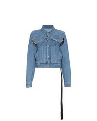 Veste en jean bleue Unravel Project