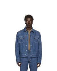 Veste en jean bleue Valentino