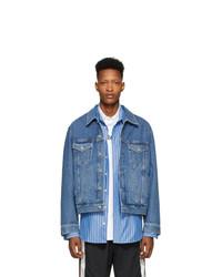 Veste en jean bleue Vetements