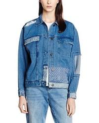 Veste en jean bleue WÅVEN