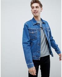 Veste en jean bleue Wrangler