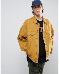 Veste en jean jaune Asos