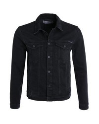 Veste en jean noir Calvin Klein