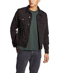 Veste en jean noir New Look