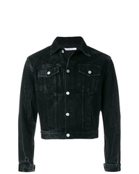 Veste en jean noire Givenchy
