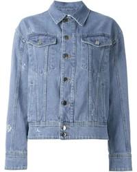 Veste en jean ornée bleu clair Filles a papa