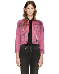 Veste en jean rose Marc Jacobs