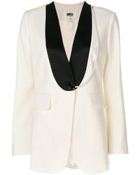 Veste en laine blanche MM6 MAISON MARGIELA