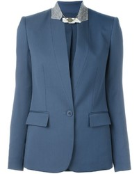 Veste en laine bleue Stella McCartney