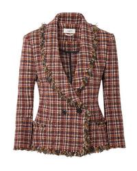 Veste en tweed bordeaux Isabel Marant Etoile