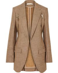 Veste en tweed marron clair Chloé