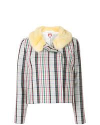 Veste en tweed multicolore