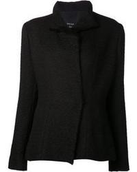 Veste en tweed noire Lanvin