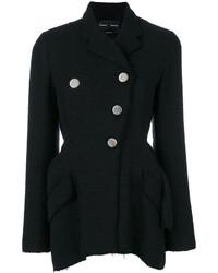 Veste en tweed noire Proenza Schouler