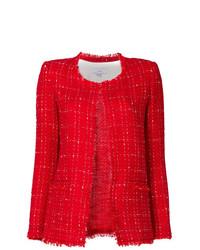 Veste en tweed rouge IRO