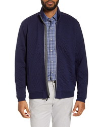 Veste harrington bleu marine
