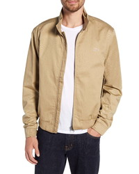 Veste harrington marron clair